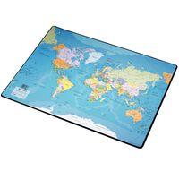 Esselte Bureauonderlegger wereldkaart 41x54 cm