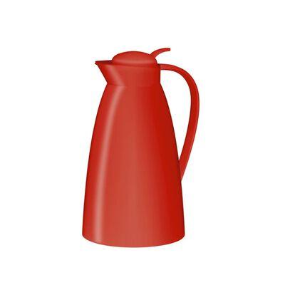 Thermoskan/isoleerkan wit 1 liter -