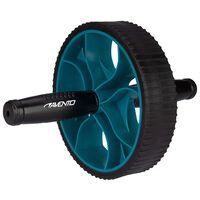 Avento Buikspiertrainer Power zwart en blauw