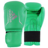 Adidas Speed 50 (Kick)Bokshandschoenen - Lime/Zilver - 14 oz