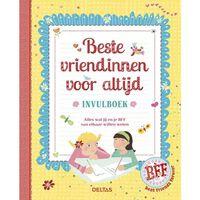 Deltas beste vriendinnen voor altijd invulboek 19 cm