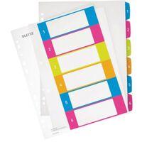 Leitz WOW printbare index, 6 tabs