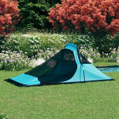 vidaXL Tent 317x240x100 cm blauw