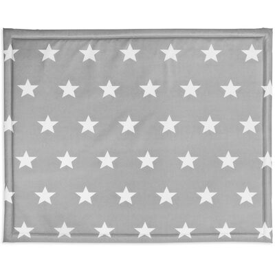 Jollein Boxkleed 75x95 cm Little Star dark grey 018-512-65009