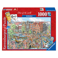 Puzzel Fleroux: Amsterdam