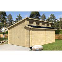 Alpholz Houten garage Västervik-44 ISO
