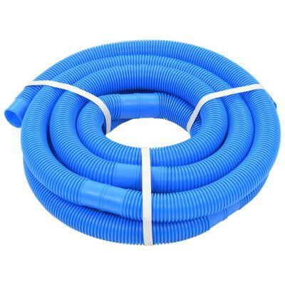 vidaXL Zwembadslang met klemmen 38 mm 12 m blauw