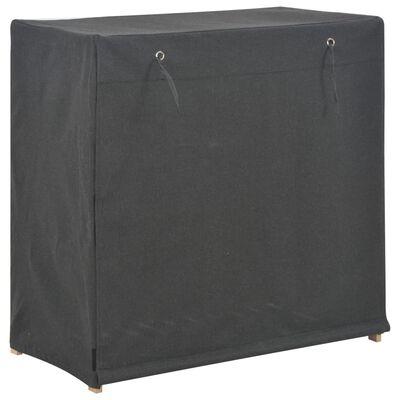 vidaXL Schoenenkast met hoes 79x40x80 cm stof grijs