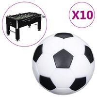 vidaXL Ballen voor voetbaltafel 10 st 32 mm ABS