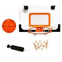 New Port mini basketbalbord met ring, bal, pomp 16NA