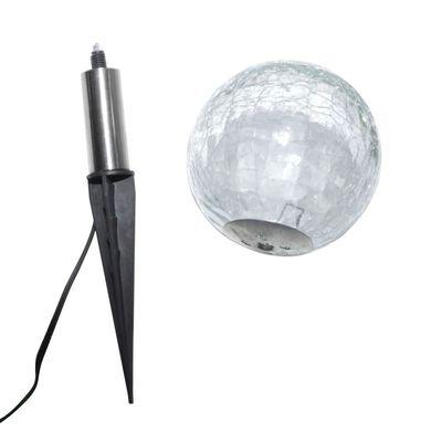 vidaXL Tuinlampen 6 st LED met grondankers en zonnepanelen