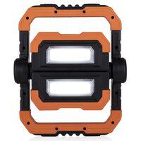 bouwlamp FCL-76013 oplaadbaar led 10W 25 cm oranje