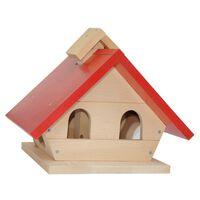 vogel bungalow hout 30 x 30 x 10 cm