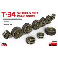Miniart - T-34 Wheels Set. 1942 Series (min35236) Toy