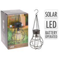 Solar bulb lamp metaal 10 stuks