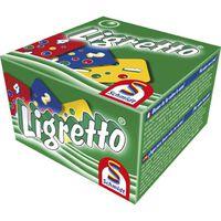 Schmidt Ligretto groen - Kaartspel - 6+