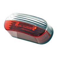 breedtelicht led 10-30V 40 x 100 mm rood/wit