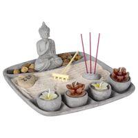 Decopatent Zen Wierrookhouders Boeddha - Wierrook houder plateau - Om