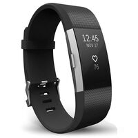 Armband voor Fitbit Charge 2 - Zwart - S