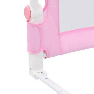 vidaXL Bedhekje peuter 120x42 cm polyester roze
