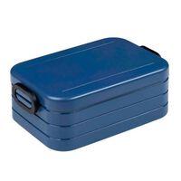 Rosti Mepal lunchbox Bento Midi 12 x 18,5 x 6,5 cm donkerblauw
