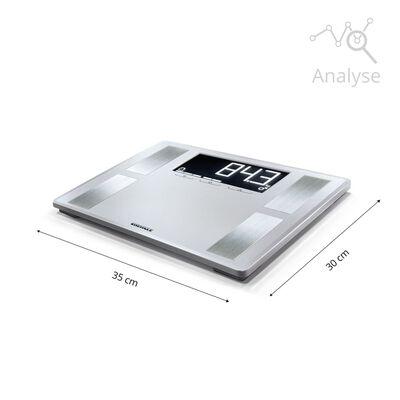Soehnle Personenweegschaal Shape Sense Profi 200 180 kg zilver 63870