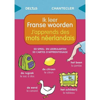 Deltas Speel- en leerkaarten - Ik leer Franse woorden