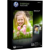 HP everyday glossy A6 fotopapier 1 pak (100 vel)