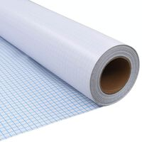 vidaXL Privacyfolie mat melkglas zelfklevend 0,9x50 m