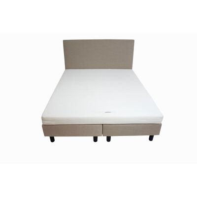 Bedworld Boxspring 200 X 200 Cm - Tweepersoons - Creme