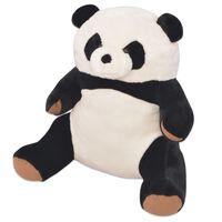 vidaXL Knuffelbeest panda XXL 80 cm