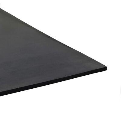 vidaXL Vloermat anti-slip 4 mm 1,2x2 m rubber glad