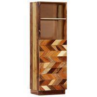 vidaXL Hoge kast 40x32x122 cm massief gerecycled hout
