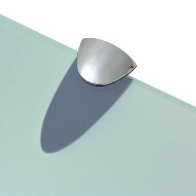 vidaXL Zwevend schap 30x10 cm 8 mm glas
