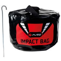 Pure2Improve Golf impact tas 23x8x25 cm zwart P2I190020