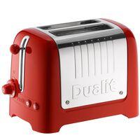Toaster D26221, Lite Rood - Dualit