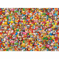 Clementoni Puzzel Emoji Impossible 1000 st