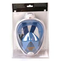 Alert Splash Duikbril Masker S-M Blauw