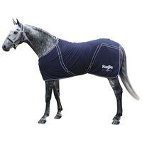Covalliero Paardendeken RugBe Classic 145 cm fleece marineblauw