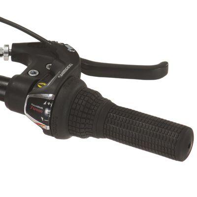 vidaXL Mountainbike 21 versnellingen 27,5 in wielen 42 cm frame zwart