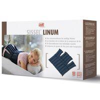 Sissel Warmtekussen lijnzaad Linum 38x36 cm blauw SIS-150.051
