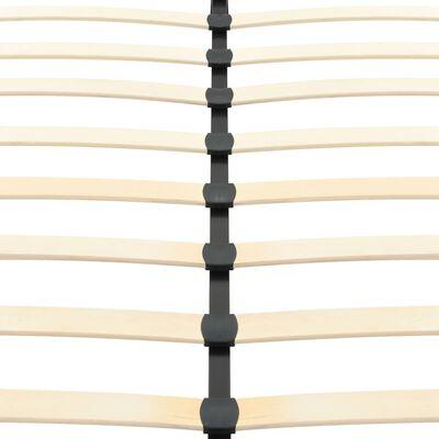 vidaXL Bedframe kunstleer zwart 200x160 cm