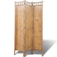 vidaXL Kamerscherm bamboe 3 panelen