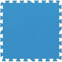 Bestway Zwembadbodembeschermers 8 st blauw 58220
