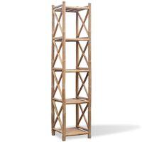 vidaXL Rek bamboe vijf lagen