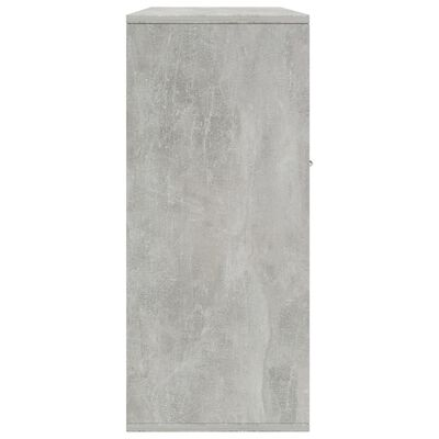 vidaXL Dressoir 88x30x70 cm spaanplaat betongrijs