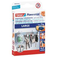 10x Tesa Powerstrips large klusbenodigdheden - Klusbenodigdheden -