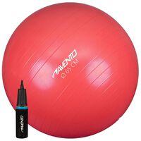 Avento Fitnessbal met pomp 65 cm roze