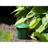 Nature Slakkenvallen 2 st 11x11,5 cm groen
