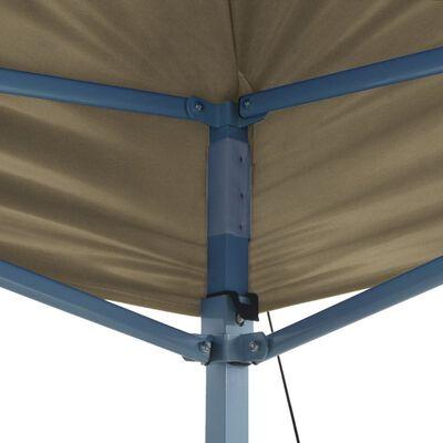vidaXL Vouwtent pop-up 3x4,5 m crèmewit